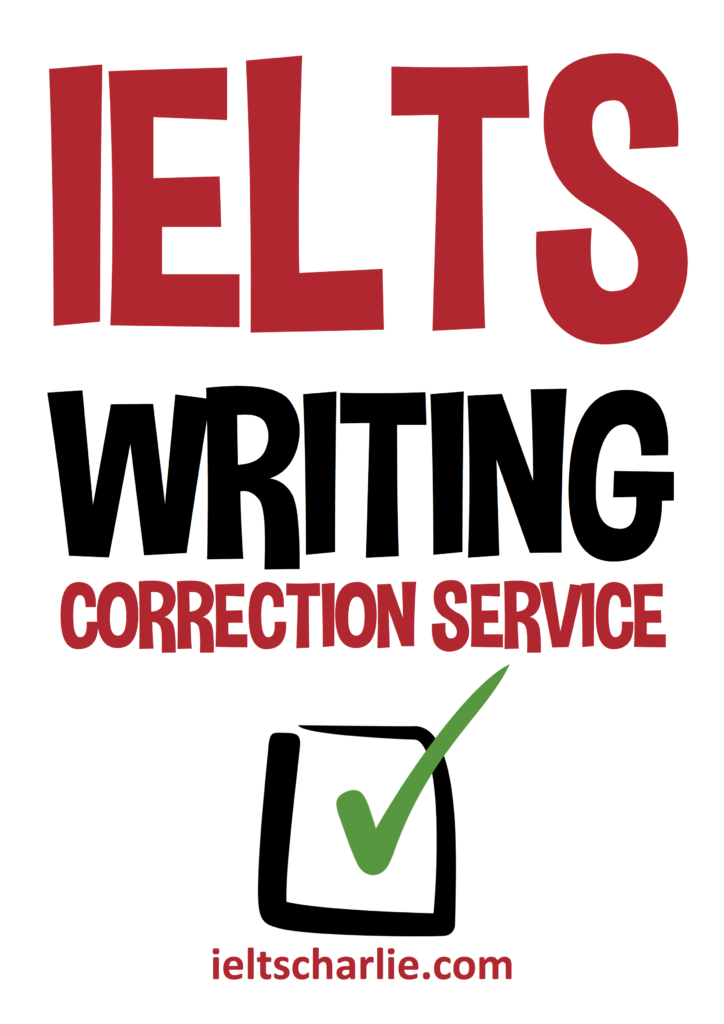 Writing service correction